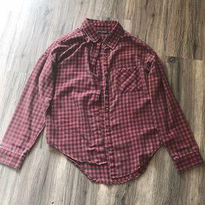 Brandy Melville Red Flannel